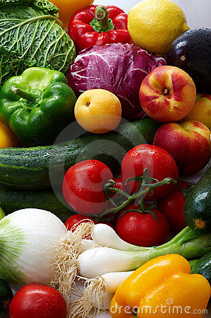 Free Fruit And Vegetables Stock Images - 7134974