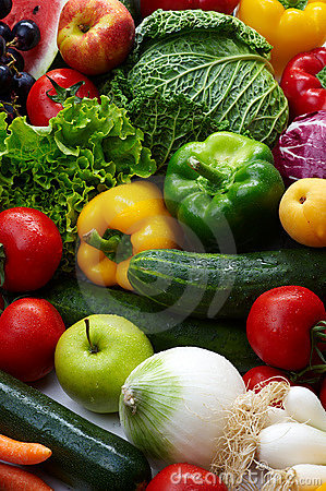 Free Fruit And Vegetables Royalty Free Stock Photos - 7134988