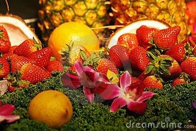 Fruit Arrangement and More