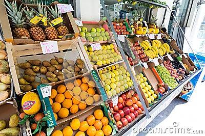 Fruit Editorial Stock Image