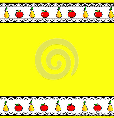 Fruit background pattern kitchen