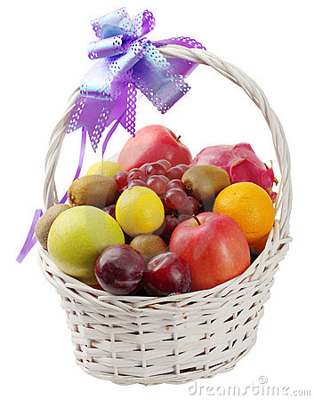 Free Fruit Basket Stock Images - 16634744