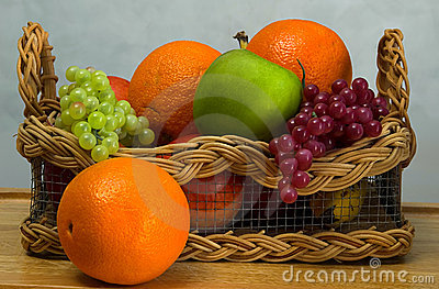 Fruit Basket Royalty Free Stock Image - Image: 25526