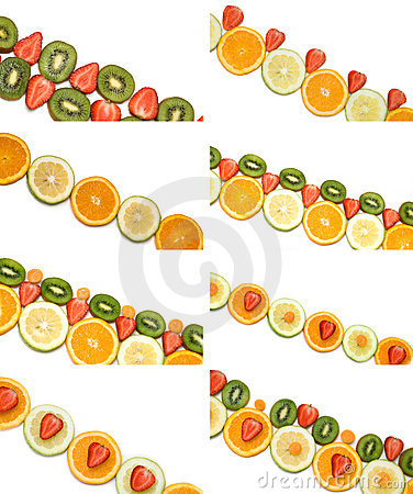 Fruit borders collection