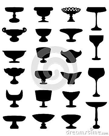 Fruit Bowls Stock Illustration - Image: 56072690