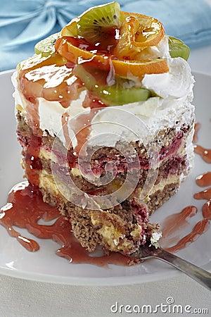 Free Fruit Cake Royalty Free Stock Images - 18298609