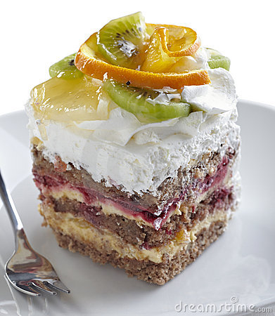 Free Fruit Cake Royalty Free Stock Images - 18298799