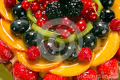 Fruit cake, detail