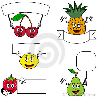 Fruit Characters & Posters [2]