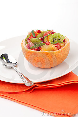 Fruit citrus salad