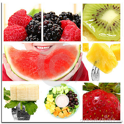 Free Fruit Collage Stock Photos - 15244273