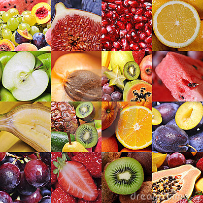 Free Fruit Collage Royalty Free Stock Photo - 16060915