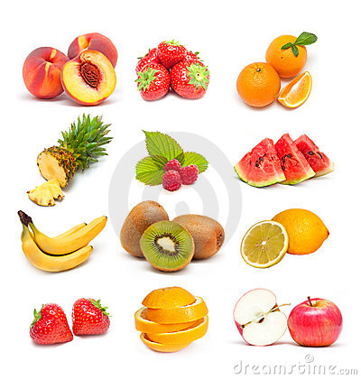 Free Fruit Collage Stock Images - 16595584