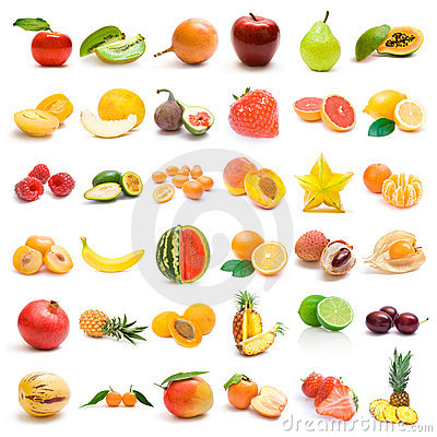 Free Fruit Collection Royalty Free Stock Photo - 13321765