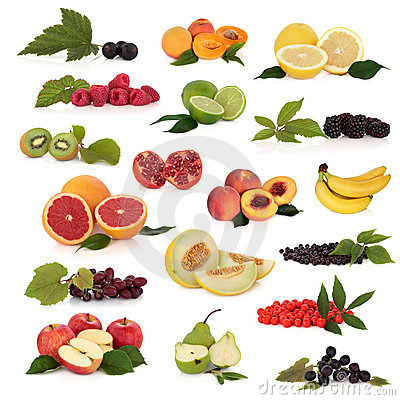 Free Fruit Collection Stock Photo - 13991500