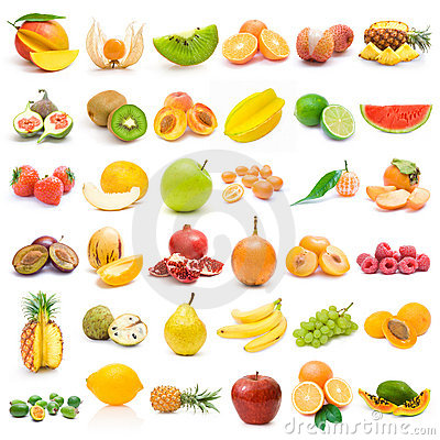 Free Fruit Collection Stock Photo - 17415560