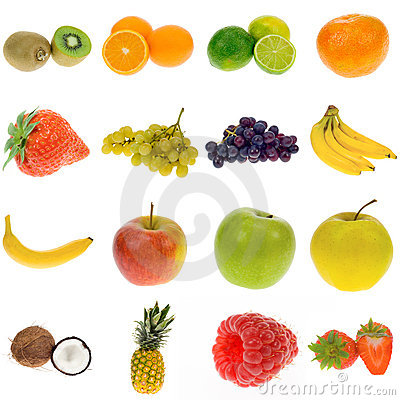 Free Fruit Collection Royalty Free Stock Image - 3770326