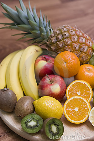 Free Fruit Composition Royalty Free Stock Photo - 4270945