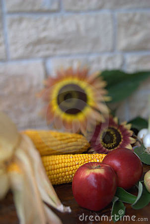Fruit and corn