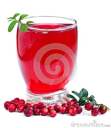 Fruit cranberries drink