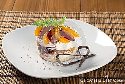 Fruit delicious cake