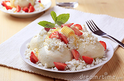 Fruit dumplings