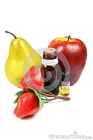 Fruit flavour concentrates
