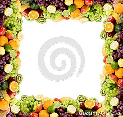 Free Fruit Frame Royalty Free Stock Photos - 16005028