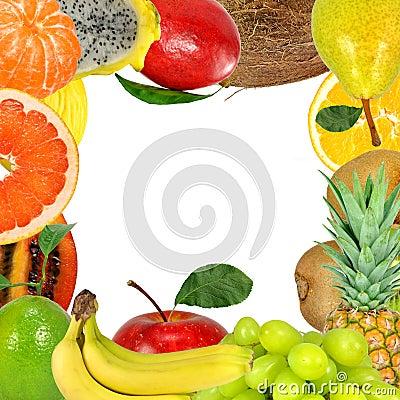 Free Fruit Frame Stock Image - 17505911