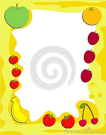 Free Fruit Frame Stock Images - 68004