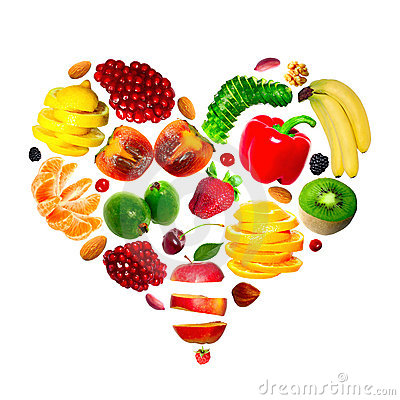 Fruit heart