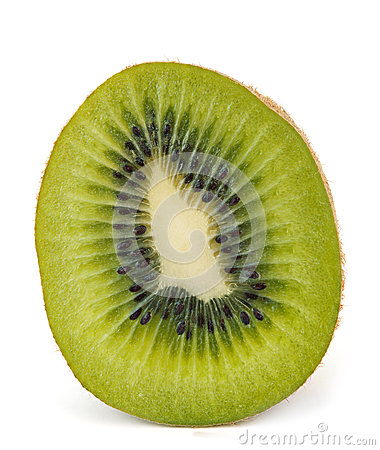 Fruit kiwi section