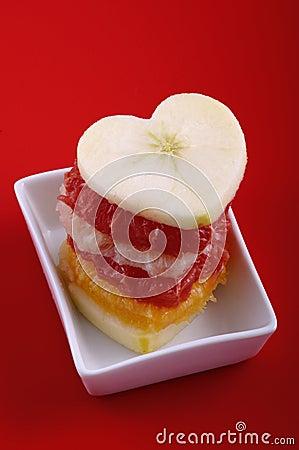 Free Fruit Love Stock Image - 7713641