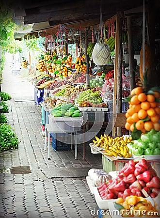 Free Fruit Market Royalty Free Stock Photos - 23138388