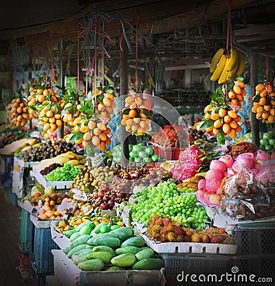 Free Fruit Market Royalty Free Stock Images - 26956619