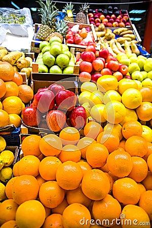 Free Fruit Market Royalty Free Stock Image - 5148066