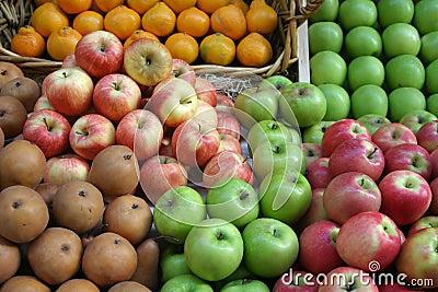 Fruit Market Display