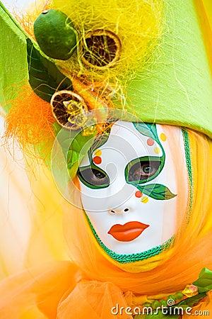 Free Fruit Mask Royalty Free Stock Photo - 4715255