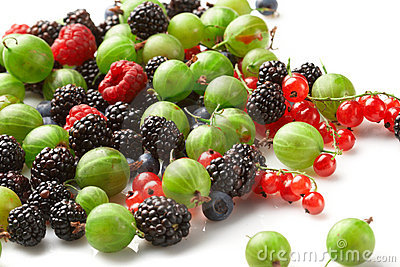 Fruit mix, berry