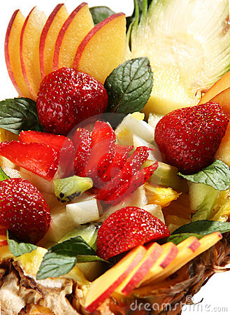 Free Fruit Mix Dessert Royalty Free Stock Photos - 5530028