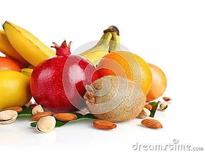 Fruit nut still life