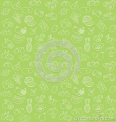 Free Fruit Pattern Royalty Free Stock Image - 35122906