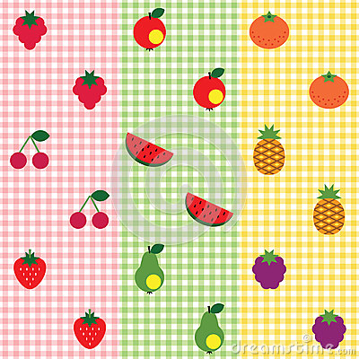 Fruit pattern set