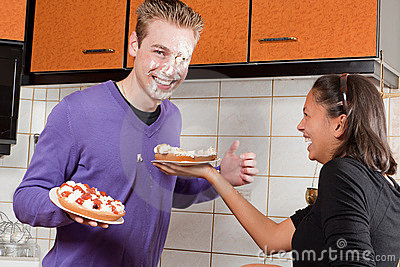 Fruit pie fight