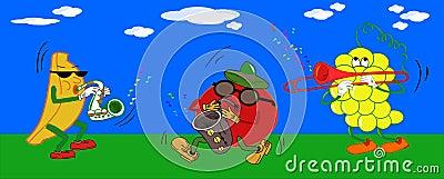 Fruit plays