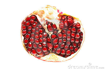 Fruit of a pomegranate