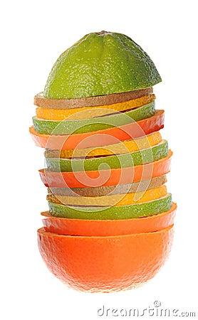 Fruit pyramid