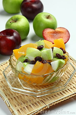 Free Fruit Salad Royalty Free Stock Photography - 10086997