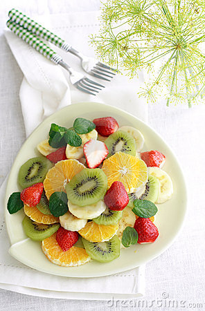 Free Fruit Salad Stock Image - 8656341