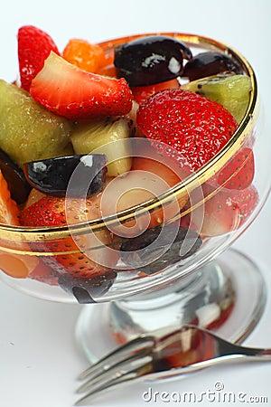 Free Fruit Salad Angled Royalty Free Stock Photography - 10984617